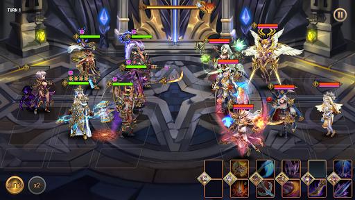 Fantasy League: Strategi RPG berbasis giliran screenshot 5