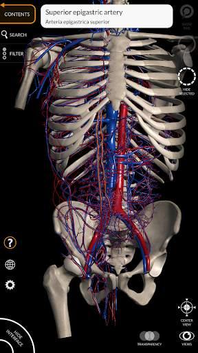 Anatomy 3D Atlas 2 تصوير الشاشة