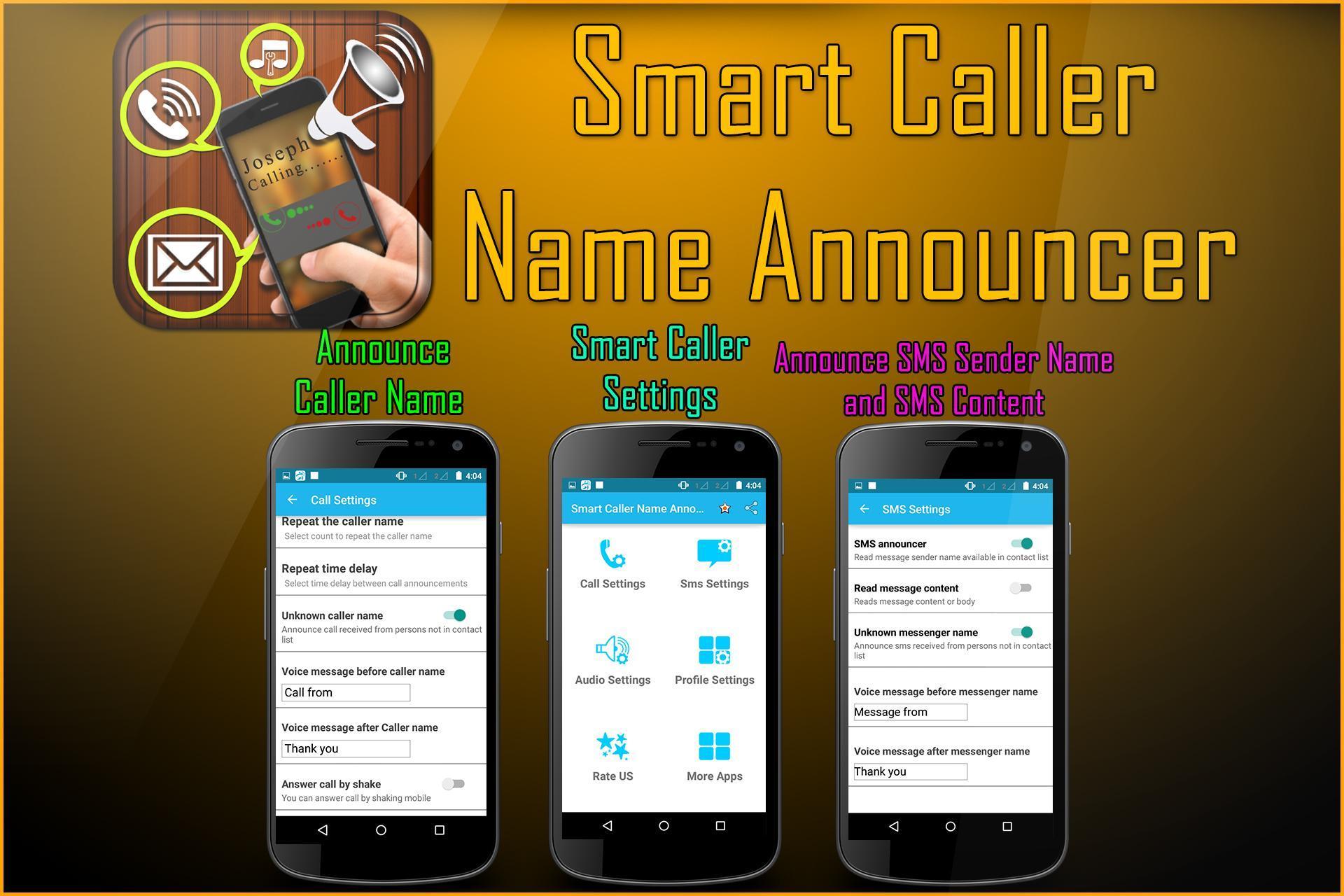 Caller Name Announcer - Speaker - Ringtone maker 10 تصوير الشاشة