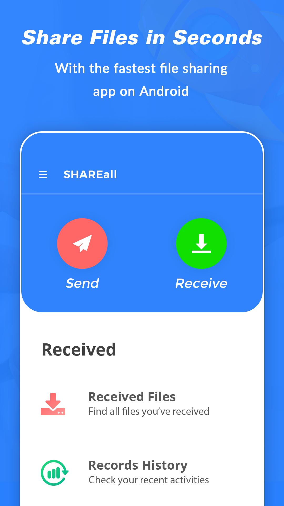 SHAREall  - Share Files & Send Anywhere screenshot 1