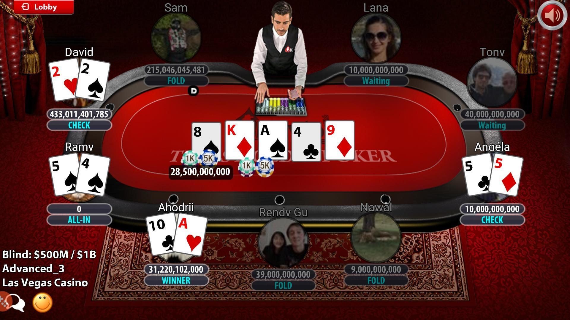 Krytoi Texas Holdem Poker. screenshot 8