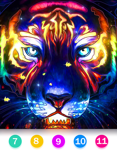 Color by Number - Happy Paint screenshot 14