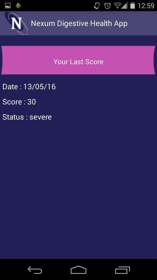 Nexum Digestive Health App screenshot 2
