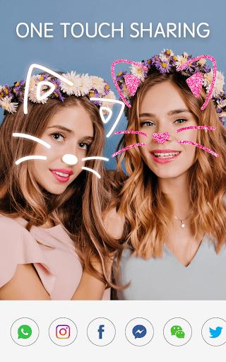 Sweet Snap Face Cam - Selfie Edit & Photo Filters screenshot 8