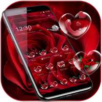 Red Rose Diamond Theme on 9Apps