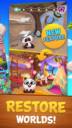 Bubble Shooter: Panda Pop! 3 تصوير الشاشة