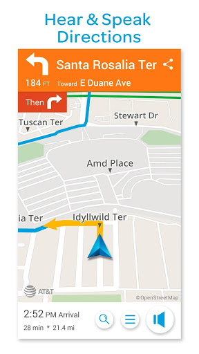AT&T Navigator: Maps, Traffic screenshot 3