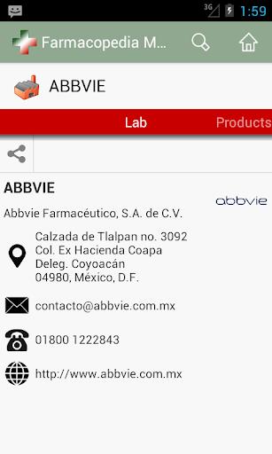 Farmacopedia Mexico 4 تصوير الشاشة