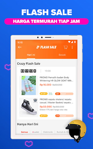 Lazada Indonesia Apikasi Belanja Online Terlengkap screenshot 12