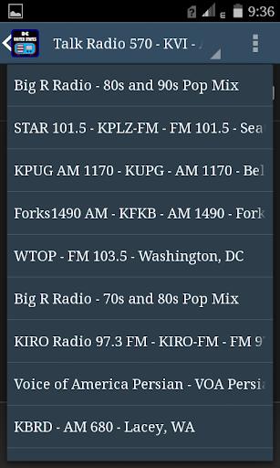 DC USA FM Radio 5 تصوير الشاشة