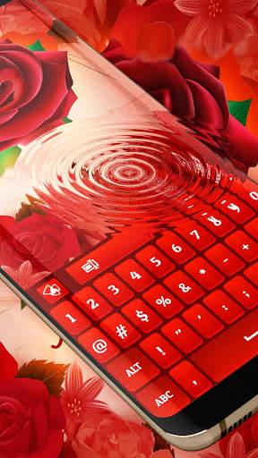 Red Rose Keyboard 2020 screenshot 5