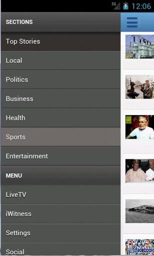 ChannelsTV Mobile for Androids 4 تصوير الشاشة