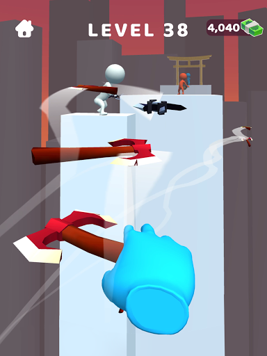 Sword Play! Ninja Slice Runner 3D screenshot 13