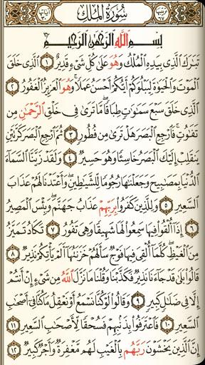 القرآن الكريم مع التفسير وميزات أخرى 2 تصوير الشاشة