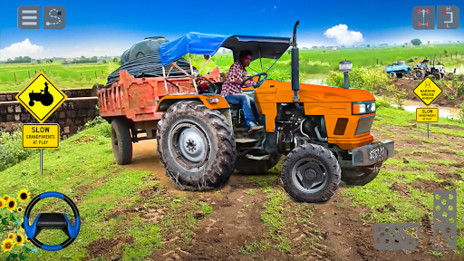 Tractor Trolley Cargo Game : Farming Simulation 20 screenshot 2