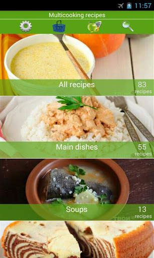 Multicooking recipes screenshot 1