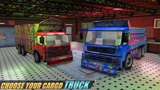 Indian Real Cargo Truck Driver -New Truck Games 21 screenshot 1