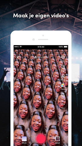 TikTok: Video's, Muziek & Lives screenshot 5