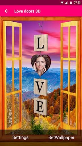 Love doors 3D screenshot 4