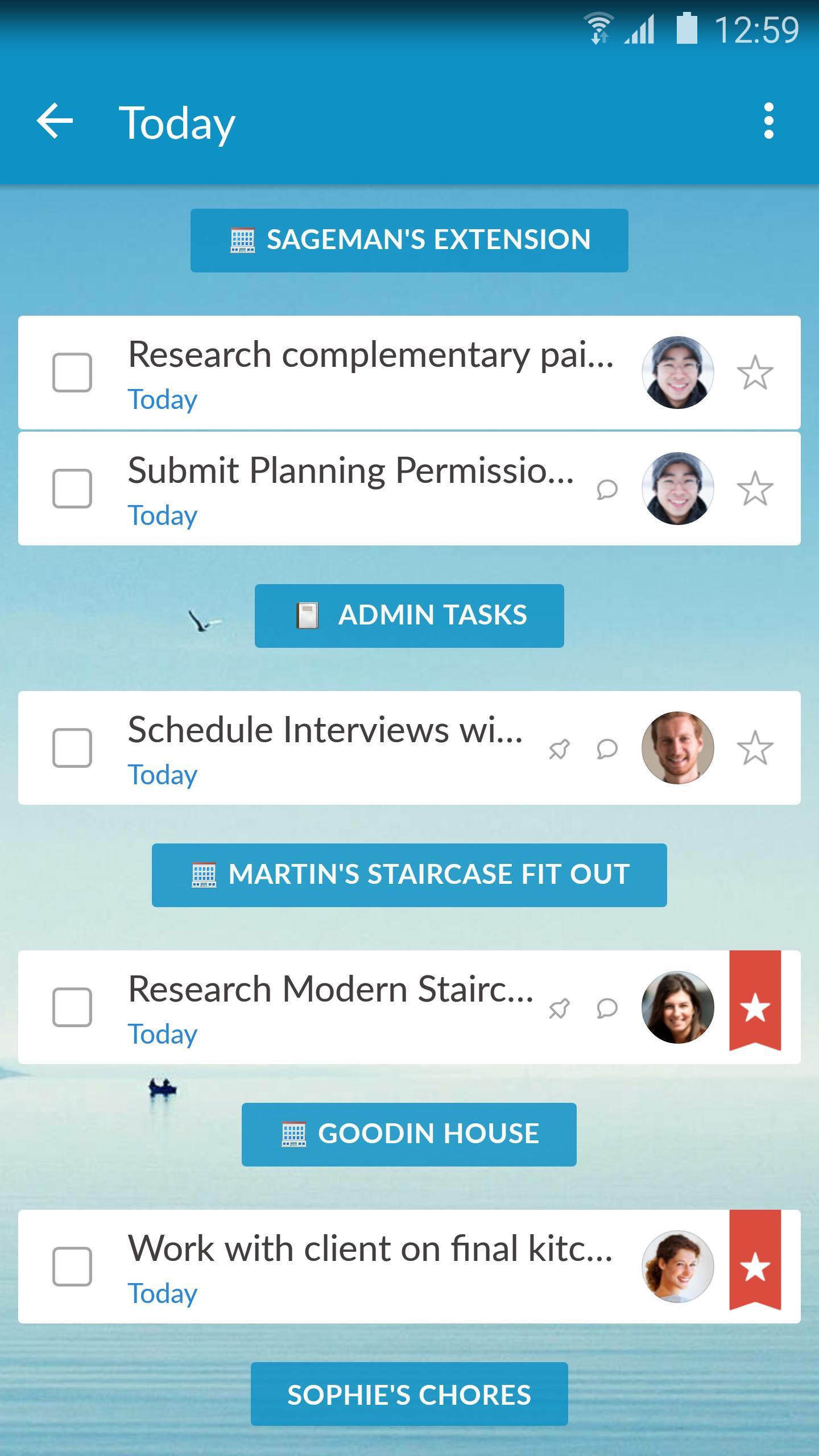 Wunderlist: To-Do List & Tasks 2 تصوير الشاشة