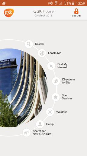GSK SiteMap App 1 تصوير الشاشة