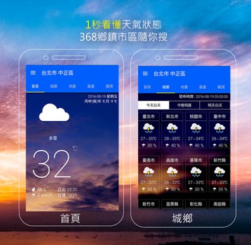 KNY台灣天氣.地震速報 screenshot 1