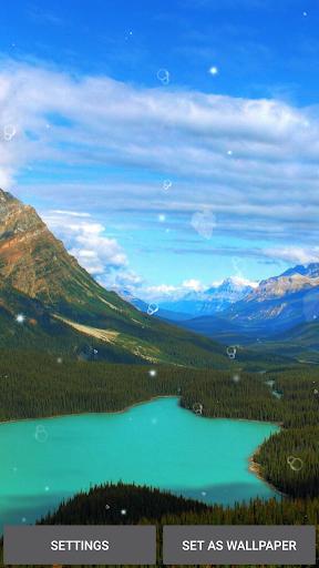 الطبيعة خلفية متحركه 1 تصوير الشاشة