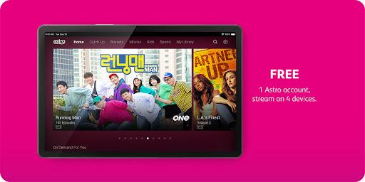 Astro GO - TV Series, Movies, Dramas & Live Sports 7 تصوير الشاشة