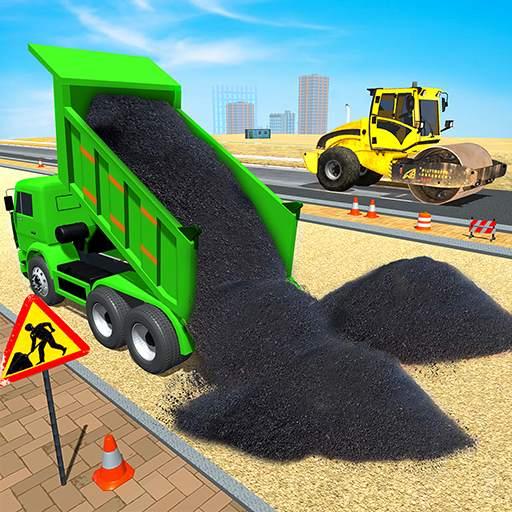 Highway Road Construction: Grand Excavator Games