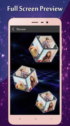 3D Multi Cube Live wallpaper- Love Cube LWP screenshot 2