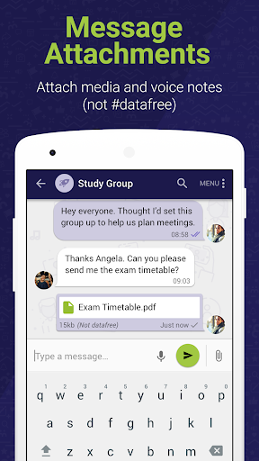 Moya App #datafree 8 تصوير الشاشة