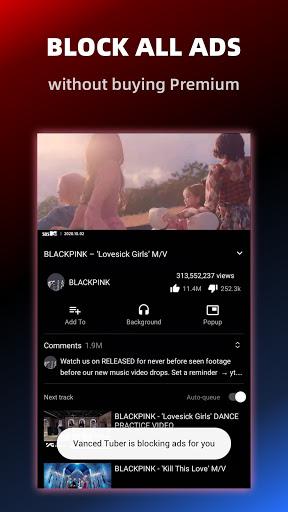 Vanced Tuber - Advanced Video Tube and Block ADs screenshot 2
