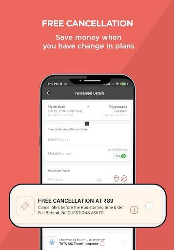 AbhiBus - Bus Booking and IRCTC Train Ticket App 4 تصوير الشاشة