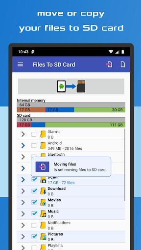 Files To SD Card 2 تصوير الشاشة