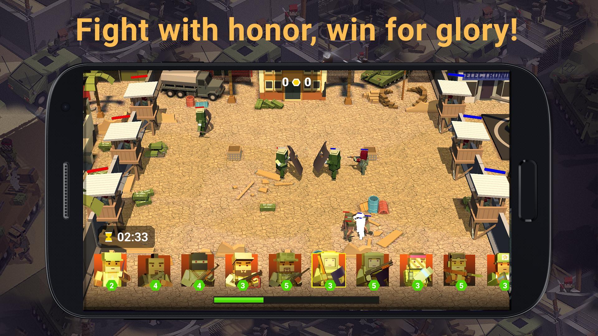 GUNZ.io Beta - Pixel 3D Battle screenshot 2