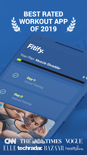 Fitify: Workout Routines & Training Plans screenshot 1
