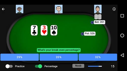 Poker Trainer - Poker Training Exercises 6 تصوير الشاشة