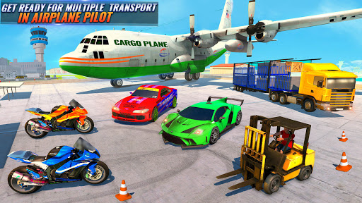 Airplane Pilot Car Transporter: Airplane Simulator screenshot 3
