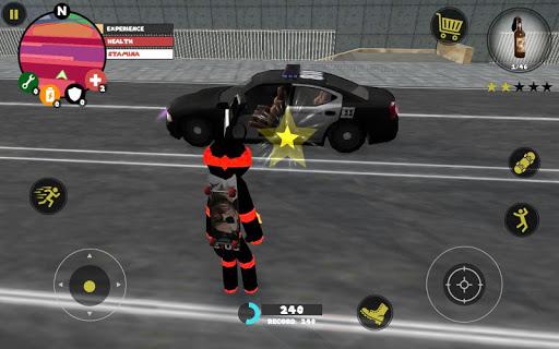 Stickman Rope Hero screenshot 8