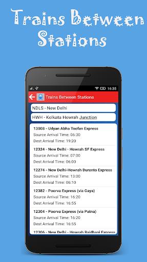 Indian Rail Offline Time Table screenshot 5