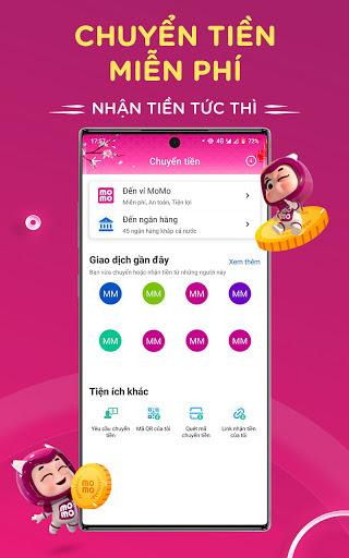 MoMo: Chuyển tiền & Thanh toán screenshot 4