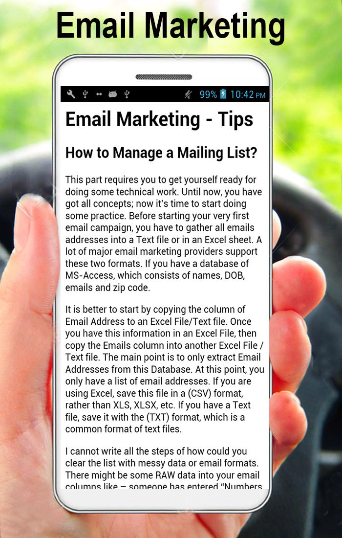 Email Marketing Guidelines (A to Z) 3 تصوير الشاشة
