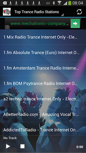 #1 Trance Music Radio Stations screenshot 1