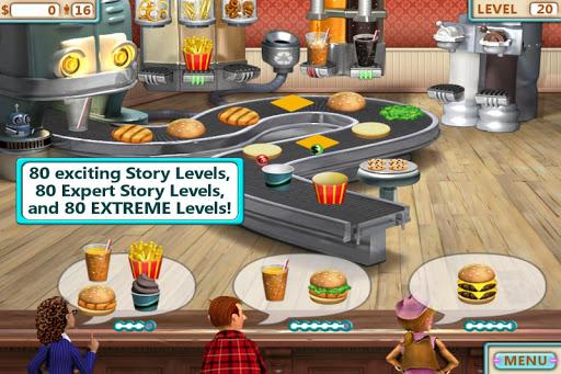 Burger Shop (No Ads) 1 تصوير الشاشة