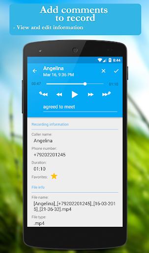 Call recorder: CallRec screenshot 4