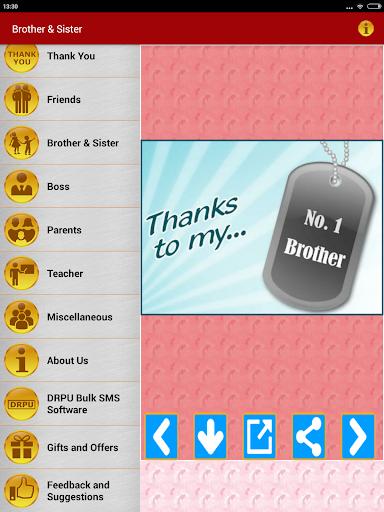 Thank You Greeting Card Images screenshot 13