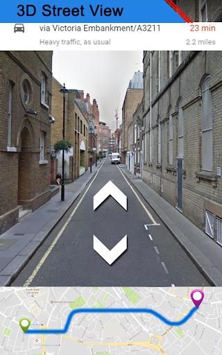 GPS Map, Live Street View: Navigation & Direction screenshot 1