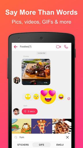 JusTalk - Free Video Calls and Fun Video Chat screenshot 6
