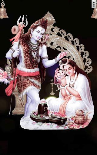 4D Shiv Parvati Live Wallpaper screenshot 11