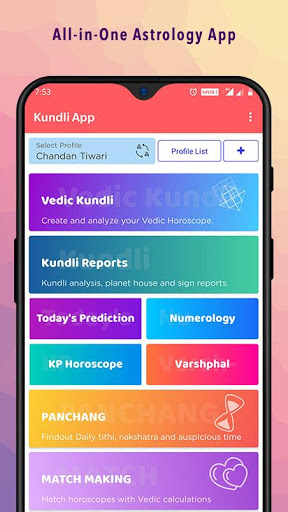 Kundli - Free Horoscope screenshot 1